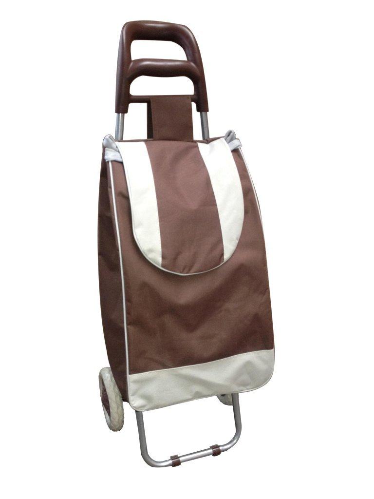 Einkaufstrolley Einkaufstasche Farbe Braun