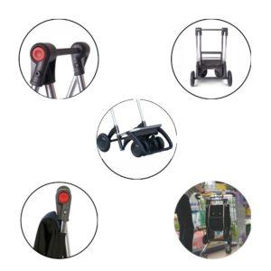ROLSER Einkaufsroller LOGIC TOUR Gestell / Die beliebtesten Einkaufstrolleys Q1/2018 / Einkaufstrolley Vergleich / Einkaufstrolley Test